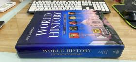 World History Patterns of Interaction 【正版原版,全彩本,美国加拿大中学历史教材 】无笔迹