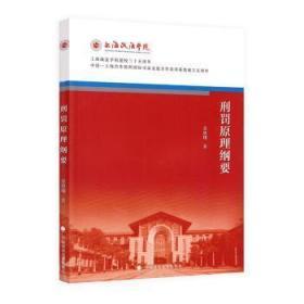 全新正版图书 刑罚原理纲要金翼中国政法大学出版社9787562092704只售正版图书