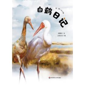 白鹤记(精装) 少儿科普 胡雅滨/文;吉祥小左/图
