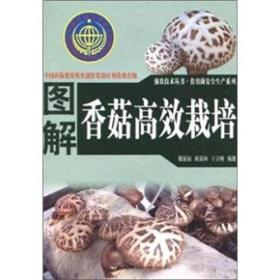 香菇种植技术书籍 图解香菇高效栽培