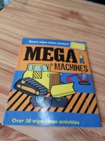 MEGA MACHINES,OVER 30 WIPE-CLEAN ACTIVITIES   超大型机器,30多个擦拭清洁活动