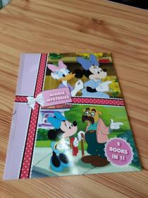 MINNIE AND THE FLOWER MYSTERY, 2 BOOKS IN 1!   米妮与花之谜