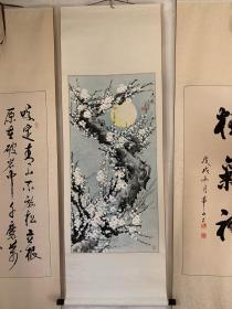 著名书画家李芳玉画一幅