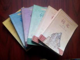 初中语文,全套6本,初中课本 语文 2000-2002年第1版,初中语文课本