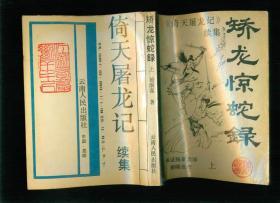 《倚天屠龙记》续集——蛟龙惊蛇录(上中下)精美插图 正版武侠小说