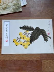 荣宝斋画谱 8 齐白石 绘 花卉草虫部分