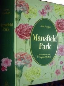 德文原版      Jane Austen: Mansfield Park   曼斯菲尔德庄园   (精装版)