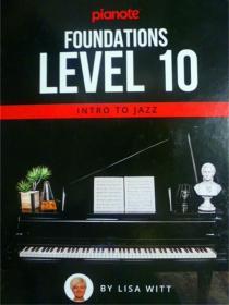 英文原版     Pianote: Foundations Level 10: Intro To Jazz 钢琴:基础 10
