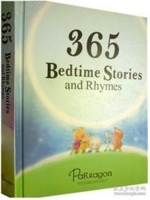 英文原版 少儿绘本故事 365 Bedtime and Stories and Rhymes 365睡前故事和儿歌