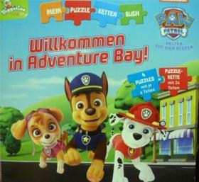 德文原版     幼儿拼图绘本故事       Toggolino: Willkommen in Adventure Bay!    欢迎来到冒险湾