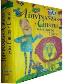西班牙语原版    少儿益智绘本       Adivinanzas Y Chistes Para Chicos Y Chicas      儿童谜语和笑话