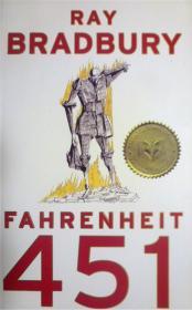 英文原版       Fahrenheit 451      华氏451度