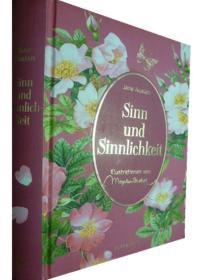 德文原版      Jane Austen: Sinn Und Sinnlichkeit       感性与感性 (精装版)