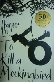 英文原版   60周年纪念版    To Kill a Mockingbird     杀死一只知更鸟