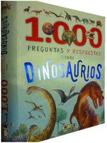 西班牙语原版 少儿百科      1000 Preguntas y Respuestas Sobre Dinosaurios     恐龙1000问答