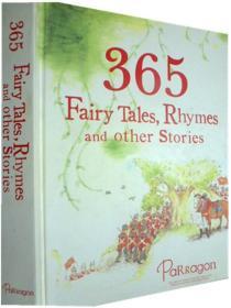 英文原版    少儿绘本故事    365 Fairy Tales, Rhymes and OtherStories   365童话,诗歌和故事
