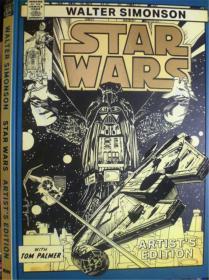 英文原版  少儿卡通漫画版  Walter Simonson: Star Wars Artist's Edition     沃尔特·西蒙森:《星球大战艺术家版》 (大开本,精装版)