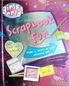 英文原版 少女手工 Scrapbook fun 快乐剪贴簿