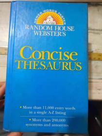 RANDOM HOUSE WEBSTER'S《Concise Thesaurus》(英文版)