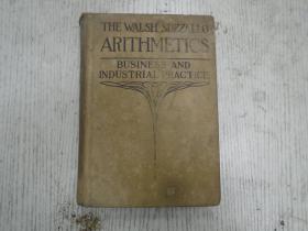 民国版《THE WALSH -SUZZALLO ARITHMETICS》B00K THREE   BUSINESS AND INDUSTRIAL PRAGTICE(BY JOHN H. W ALSH)