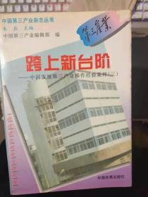 中国第三产业杂志丛书 《跨上新台阶——中国发展第三产业操作经验集粹(三)》