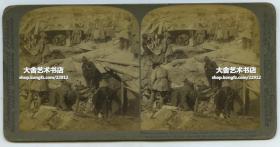 清末民国时期立体照片----1905年中国东北满洲日俄战争时期残酷的一幕,满战壕的日军尸体。战争期间,俄军共死亡四万多人,日军八万多人。战争异常惨烈,双方都有重大人员伤亡。以致于最后乃木希典大将在胜利总结时候说:没有什么值得庆祝的,付出的代价太大了。