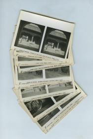 J.DEARDEN HOLMES 公司出品民国时期北京风景街道民俗银盐立体照片10张,此组影像为英国著名旅行家、摄影师霍尔姆斯拍摄,阳光旅行社制作的民国北京风景立体照片。