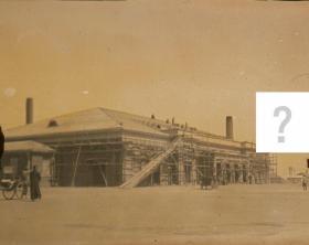 有偿征集老照片拍摄地点: 20210724  奉天沈阳维修中的建筑