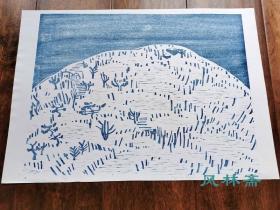 日本创作版画3 四开大尺幅 限定45