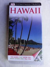 DK Eyewitness  Travel  :  Hawaii     夏威夷导览     铜版纸彩印  图文并茂    英文原版