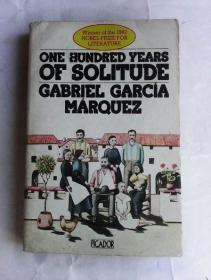 One Hundred Years of Solitude     英文旧版《百年孤独》