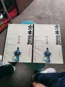 宫本武藏 : 剑与禅  (上下)实物图