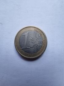 欧盟硬币:1欧元  1999年