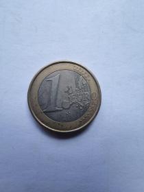 欧盟硬币:1欧元  2006年