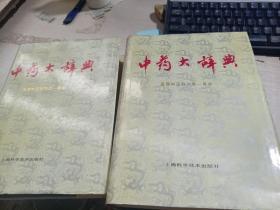 首届中国辞书类一等奖:中药大辞典(上下)