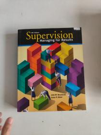 【外文原版】Supervision Managing for Results 8th Edition