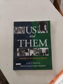 【外文原版】  US and THEM: A HISTORY OF INTOLERANCE IN AMERICA