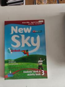 【外文原版】New Sky Live Book Students' Book & Activity Book 3
