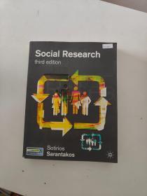 【外文原版】Social Research third edition社会研究第三版