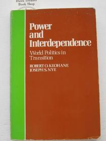 Power and Interdependence World Politics in Transition  权力和相互依存的世界政治转型【英文原版,有图画】