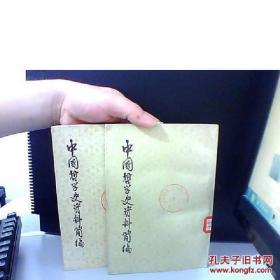 中国哲学史资料简编 两汉-隋唐部分 上下 中国哲学史资料简编 两