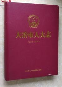 大冶市人大志(2003-2019)