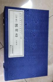 宣统濮州志点校本(八册)