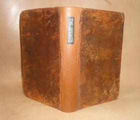 1821年The Speaker - An Essay on Elocution 英语演讲金鉴 《演讲者:古今演讲名篇选粹》全皮古董书 稀世珍本 原品铜版画插图