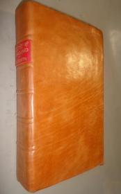 1787年 Oliver Goldsmith - History of England 哥德史密斯《简明英格兰史》 珍贵铜板画插图 全小牛犊皮手工装帧 稀世珍本