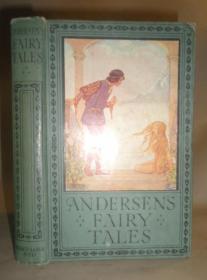 1910年 Andersen's Fairy Tales 《安徒生童话》古董书 彩色插图 增补精美彩图