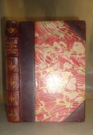 1885年 The Odes and Epodes of Horace《贺拉斯颂歌集》3/4摩洛哥羊皮豪华装桢 增补精美插图 品佳