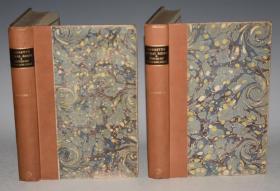 1930年 William Cobbett - Rural Rides 威廉·科贝特散文经典《骑马乡行记》限量插图精装本2巨册 品佳