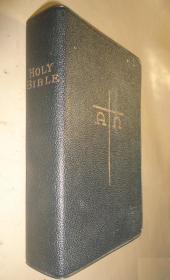 1914年 Holy Bible《神圣经典》烫金古董书