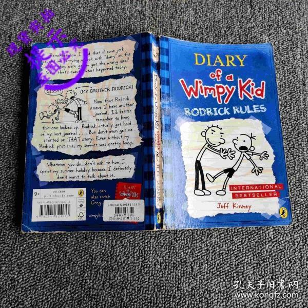 Diary of a Wimpy Kid #2: Rodrick Rules小屁孩日记2:罗德里克法则